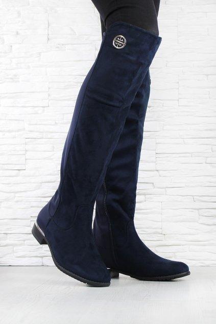Modré kozačky HX5037-83BL