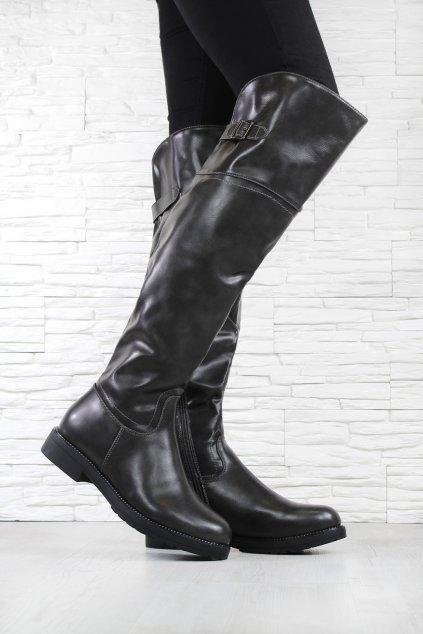 Kozačky nad kolena SW6263G (1)