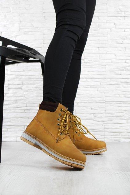 Dámské kotníkové boty B66 8CA (3)