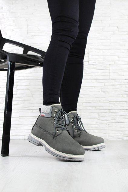 Kotníkové boty B5595D (3)