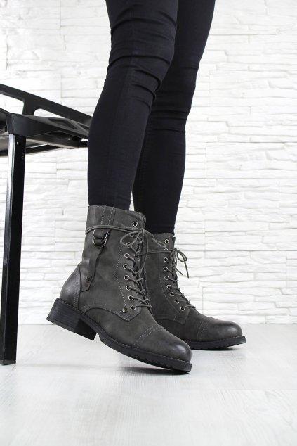 Šněrovací obuv workery 6416D (2)