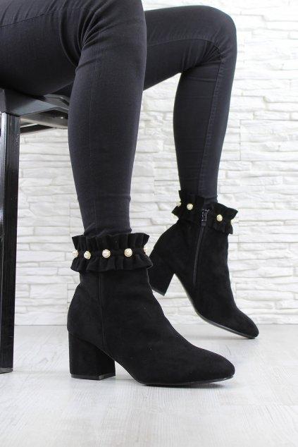 Kotníkové boty 7 2351A B (2)
