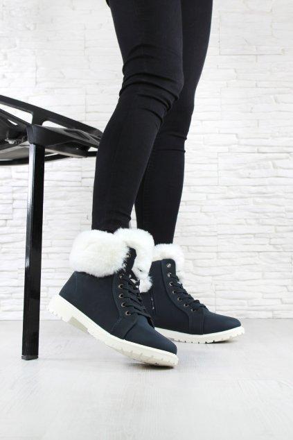 Zateplené kotníkové boty 3116 19NA (3)