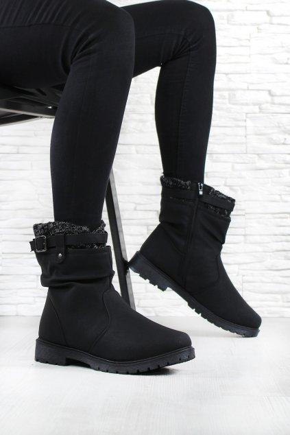 Dámské kotníkové boty 20700 1B (1)