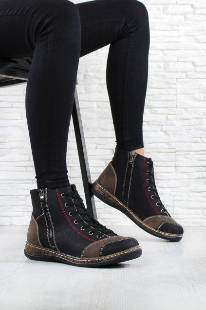 Dámská kotníková obuv 6420B (1)