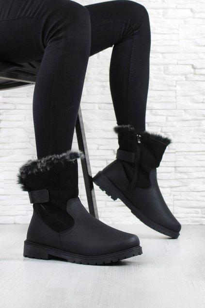 Dámské kotníkové boty 22590B (1)