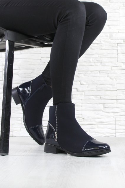 Kotníkové boty HX16006 116B (1)