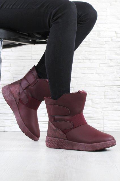Dámské kotníkové boty 81058 3W (1)