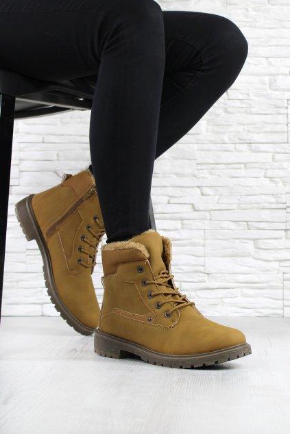 Dámské kotníkové boty 3124 3CA (1)
