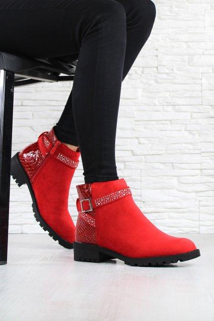 Kotníkové boty OM5301 2R (1)