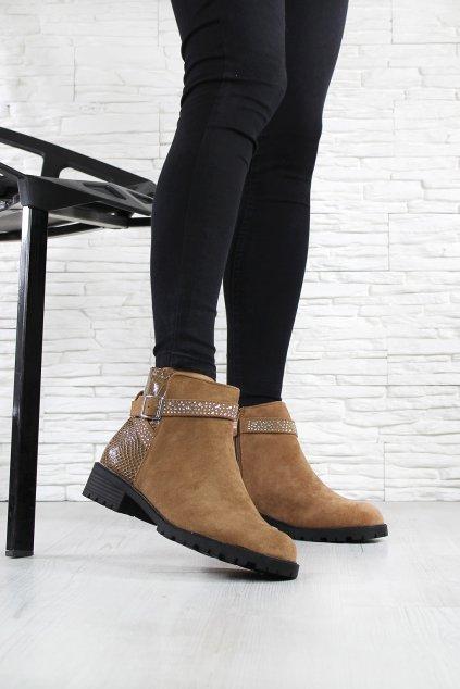 Kotníkové boty OM5301 5CA (3)