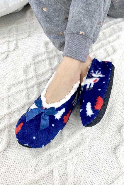 Vánoční papuče