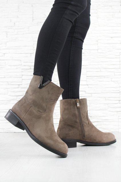 Dámské kotníkové boty Q11 2KH (3)