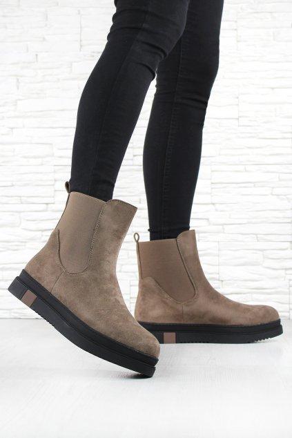 Dámské kotníkové boty Q01 3KH (3)