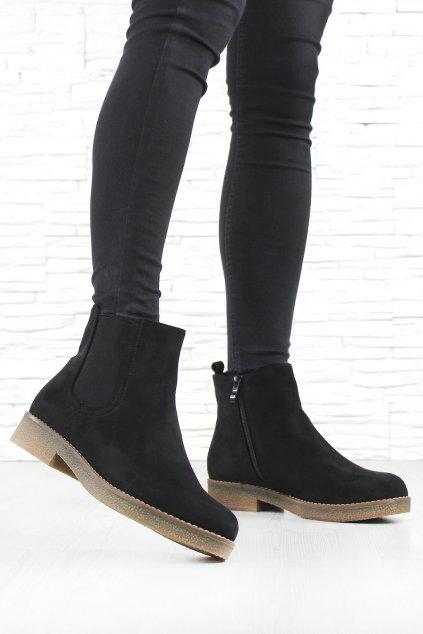 Dámské chelsea boty W91 1B (3)