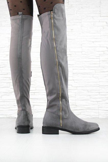 Kozačky nad kolena DA01P (1)