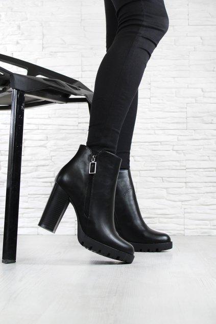 Dámské boty na platformě 4019 1B (2)