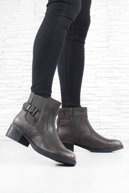 Dámské kotníkové boty HL61536G (1)