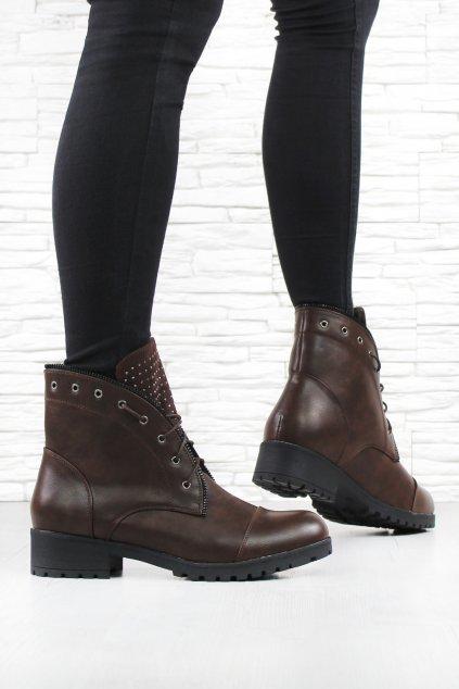 Šněrovací boty W42 2BR (1)
