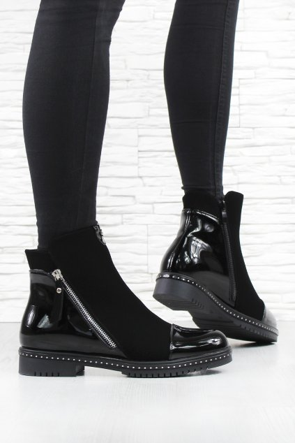 Kotníkové boty 6298 1B (1)