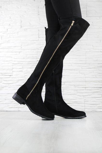 Kozačky nad kolena DA01P (5)