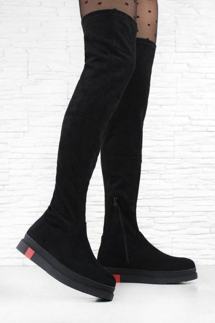 Kozačky nad kolena Q03 1B (2)