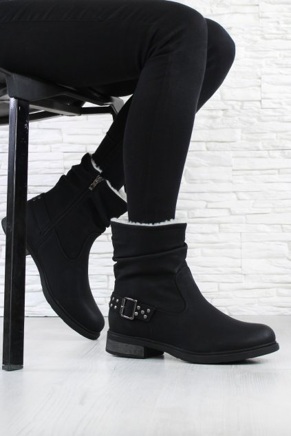 Dámské kotníkové boty 6645B (2)
