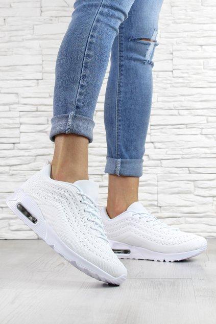 Dámské bílé botasky 8260 3AL (1)