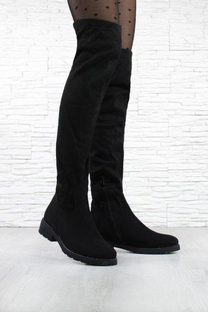 Kozačky nad kolena QT03B (2)