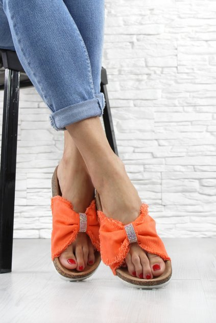 Dámské korkové pantofle WSA 77OR (1)