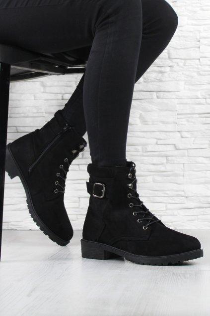 Dámské kotníkové boty JB043 1B (1)
