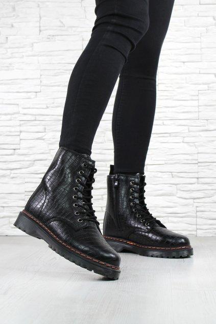 Kotníkové boty DJH01B (2)