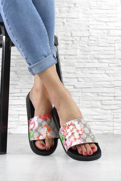 Dámské pantofle BG68BE (1)