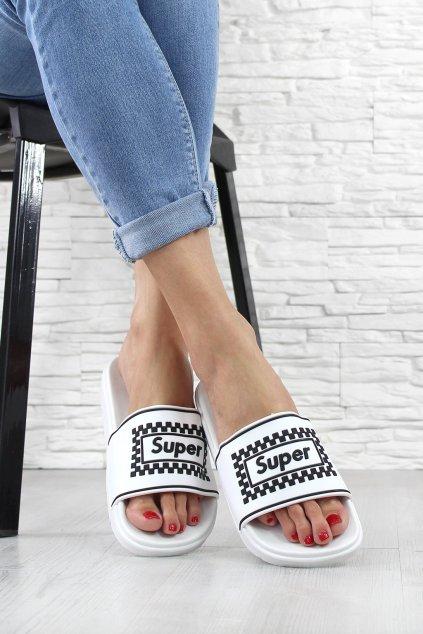 Gumové pantofle CK123WH (1)