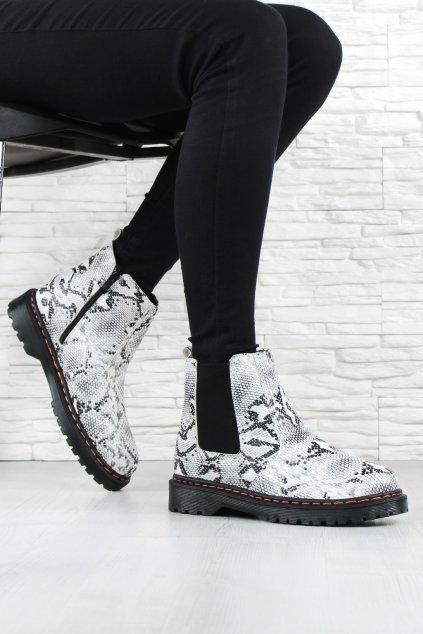 Dámské kotníkové boty DJH02 52SN (3)