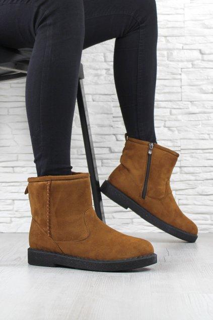 Kotníkové boty TLH1901 5CA (4)