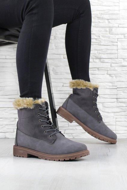 Dámské kotníkové boty TL136 3D (4)