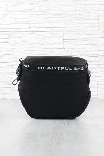 Černá ledvinka kabelka 211B (4)