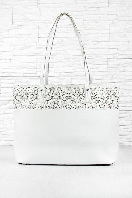 Dámská bílá kabelka CY888 50WH (4)