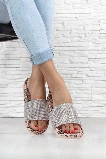 Dámské pantofle WSA 79PI (1)