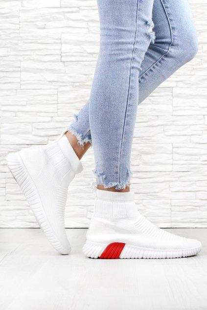Ponožkové tenisky E7201WH (2)