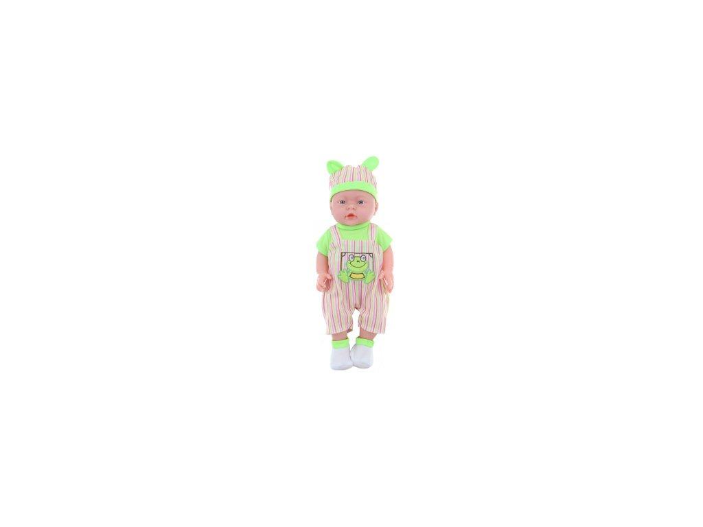 miminko chlapecek pohlavi chlapecka zeleny v sacku