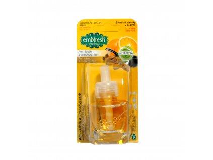 embfresh refill anti tabák, oranžový cedr