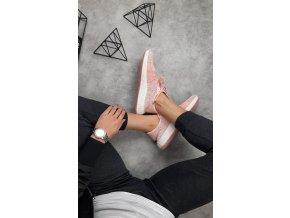 Cool pohodlné tenisky barva růžová