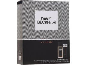 David Beckham dárková sada Classic