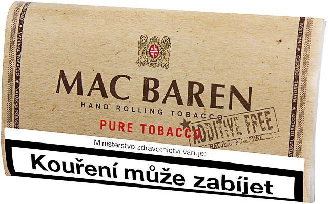 Tabáky bez přísad