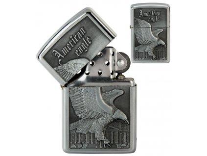 oil lighter american eagle silver 032