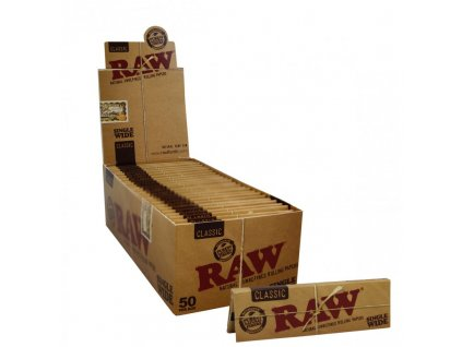 50x RAW Classic Single Wide