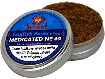 English Snuff Medicated No.69 5g (doporučuji)