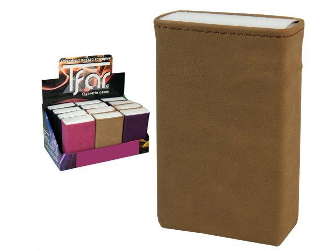 Koženkové pouzdro na měkké krabičky COLOUR 04